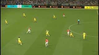 FC Nantes vs AS Monaco | Ligue 1 | Journée 01 | 11 Août 2018 | PES 2018