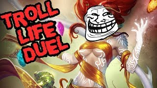 OH NOW WE ARE ONLINE   NU WA (ATTACK SPEED) - Smite S5 Troll Ranked Duel Ep.2