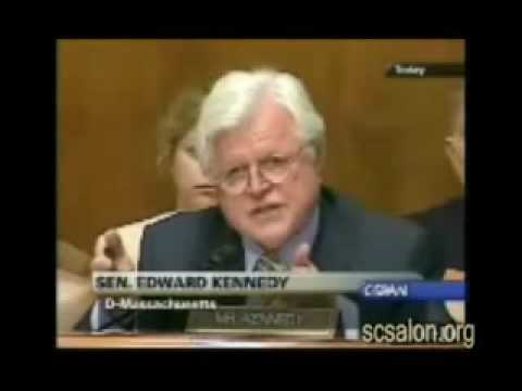 Kennedy Asks John Ashcroft about Torture Memos-2005