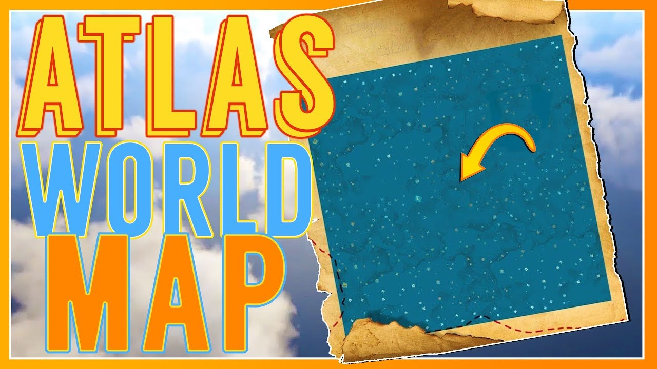Is this the Atlas Map? I think it might be! :: Atlas Game
