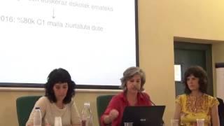 Euskararen Biziberritzea. Ane Ortega eta Leire Diaz de Gereñu