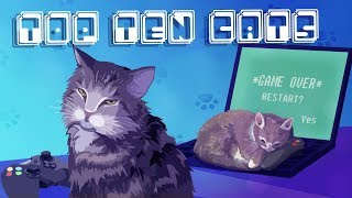 Top Ten Video Game Cats
