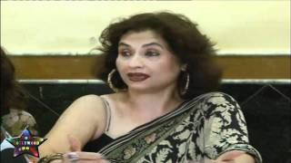 Press Cnfrence Salma Aaga Daughter Zarah Khan MMS   07