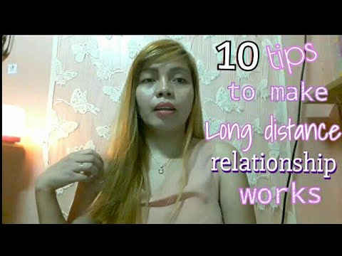 how to make a long distance relationship