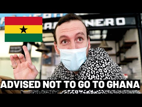 I WAS ADVISED NOT TO TRAVEL TO GHANA🇬🇭