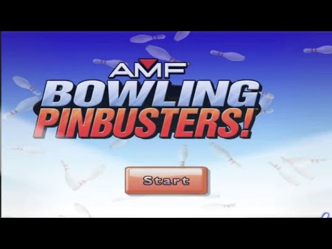 AMF Bowling World Lanes Wii Gameplay