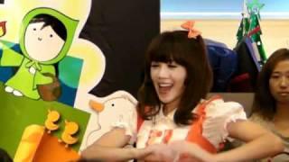 20101212果凍姊姊帶動跳舞(台中中友百貨)