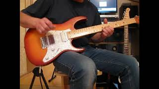 Там где клен шумит соло на гитаре