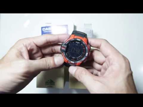 Casio Protrek PRG-270-4 With Triple Sensor Demo