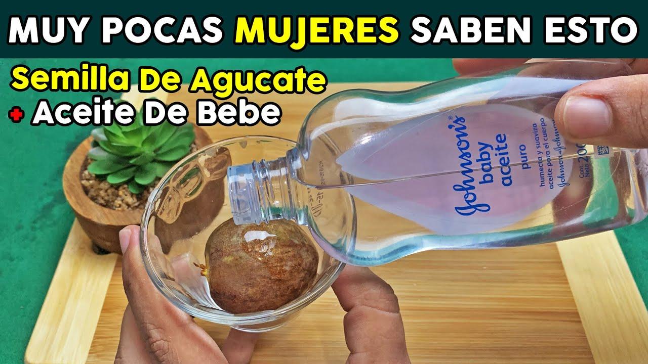 Mezcla Un Chorrito De Aceite De Bebe Con Semillas De Aguacate Y Me Lo Agradecerás Toda La Vida