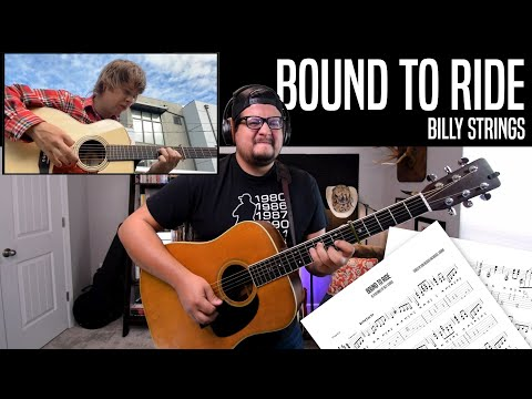 Learn Billy Strings' Guitar Break For Bound To Ride - Bluegrass Guitar Lesson