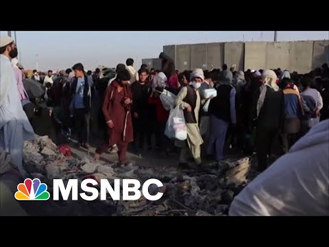 Afghanistan Vet: Biden Taking Responsibility For Challenging Evacuation