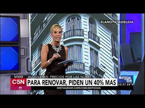 C5N - La Noticia del día: El debate por los aumentos en los alquieres