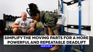 Simplify the Moving Parts for a More Powerful and Repeatable Deadlift (3 of 4)