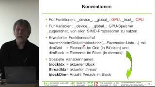 Vorlesung 06a: Graphics Processing Unit (GPU)