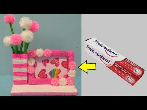 IDE KREATIF Dari Barang Bekas || Waste Material Craft idea || Ide kreatif Box Pepsodent