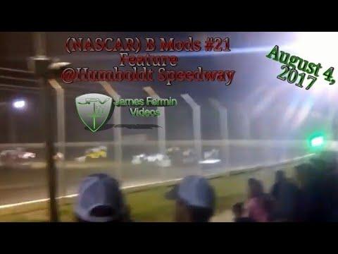 B Mods #21, Feature, Humboldt Speedway, 2017
