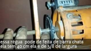 Aprendendo uma  Dica bobinadera  manual
