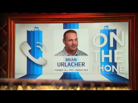 Former Bears LB Brian Urlacher on Mitchell Trubisky Saying Bears Will Make Playoffs - 7/13/17