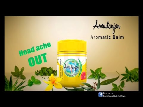 Amrutanjan Amromatic Balm - Hindi