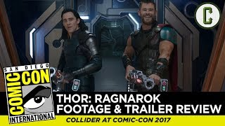 Thor: Ragnarok Trailer and Footage Review - Comic-Con SDCC 2017