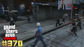 GTA 5 Online Erster Einsatz für die Polizei [Deutsch] #370 Let´s Play GTA Online