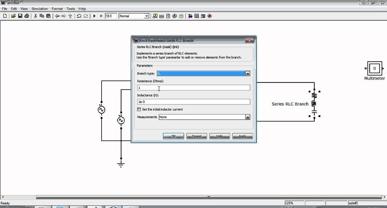 Simulation of Three Phase rectifier in Simulink