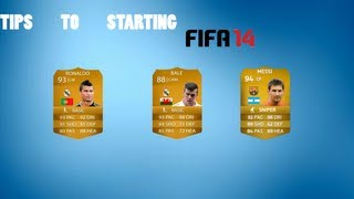 Tips To Starting Fifa 14 Ultimate Team | The Beginning