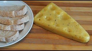 Домашний Твердый Сыр. Простой рецепт