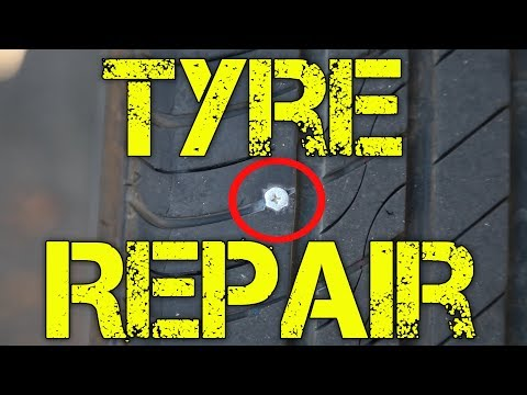 HOW TO FIX A TIRE