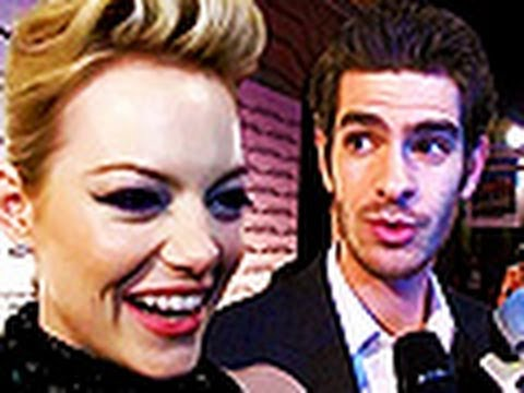 Andrew Garfield and Emma Stone talk about each other at italian premiere of The Amazing Spider-Man