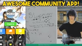 final fantasy xv community app meet awesome new people amino promotional video