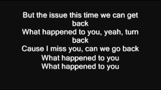 What Happened To You - Usher (Lyrics)