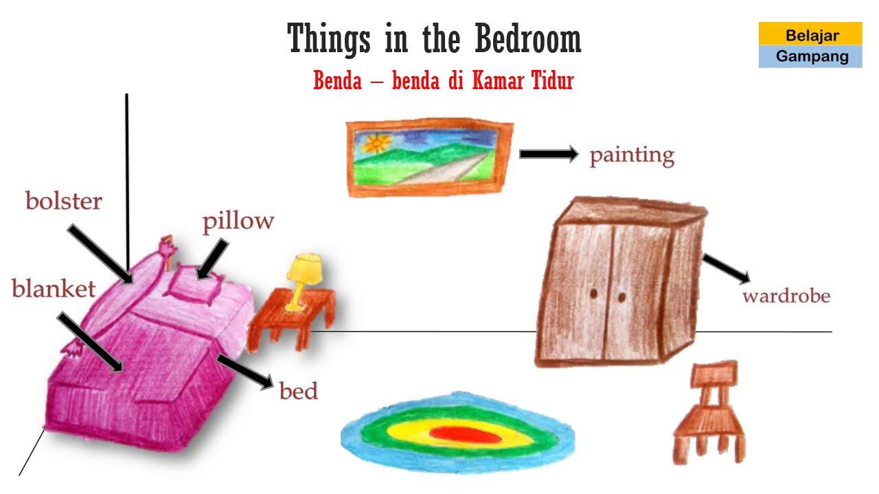 Things In The Bedroom Benda Benda Di Kamar Tidur Youtube Benda di kamar tidur