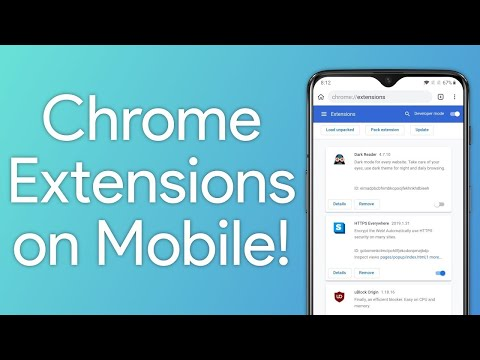 Install Google Chrome Extensions on Android Browser 1