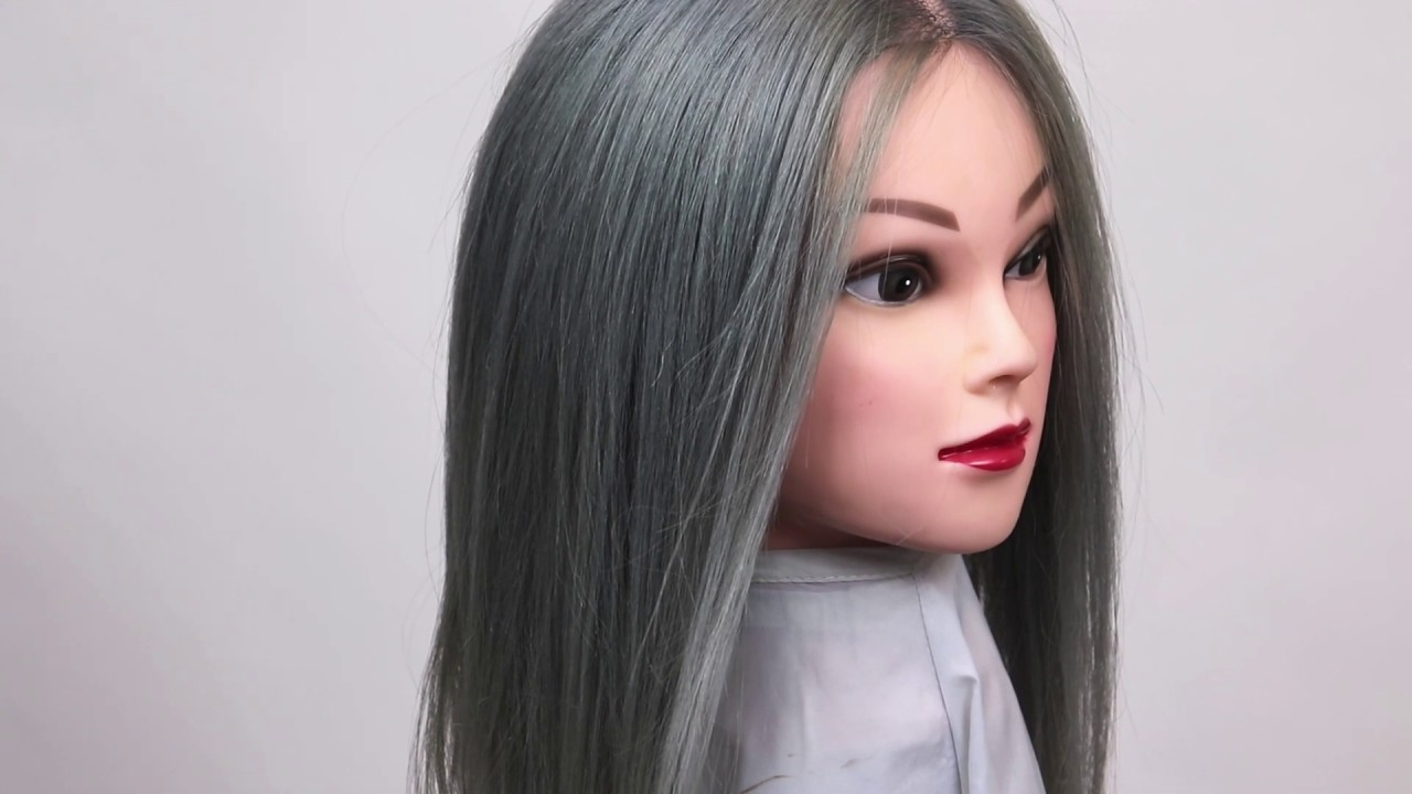 Silver Blue Hair Color How To
