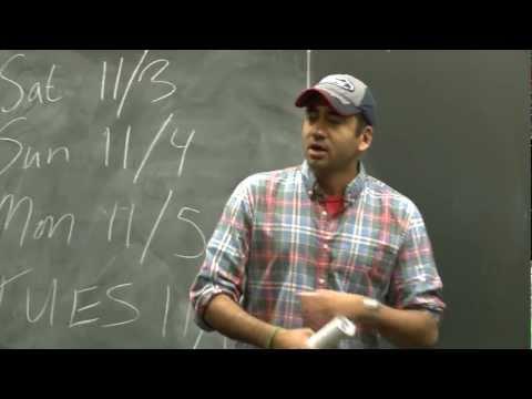 Kal Penn for Obama 2012 at Carnegie Mellon University