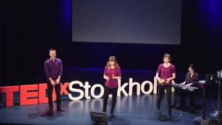 Ideas worth improvising | International Theater Stockholm | TEDxStockholm