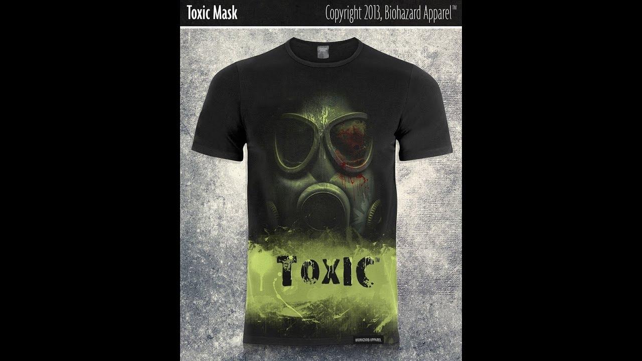 Custom Tshirt Tshirt Maker Tshirt Design The Biohazard Apparel A