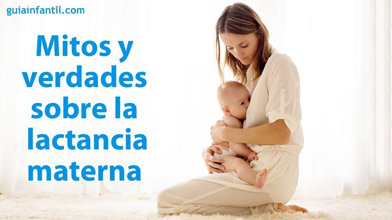Mitos y verdades sobre la lactancia materna | #Conectacontuhijo