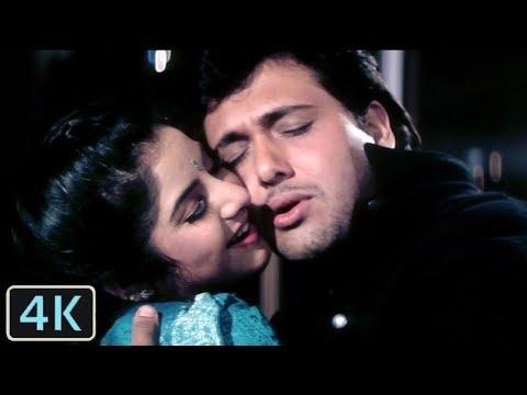 Tere Mere Pyar Mein   Full 4K Video Song   Govinda   Divya Bharti - Shola Aur Shabnam