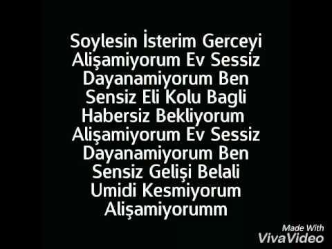 Mehmet Savcı Alişamiyorum (Sözleriyle)