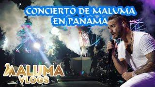 Concierto Maluma en Panama | MalumaVlogs