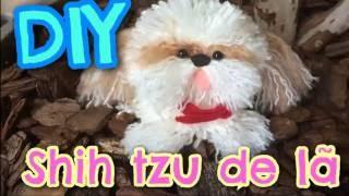 Veja Como Fazer Shih Tzu Feito com Lã