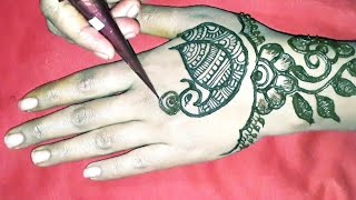 New Indian easy Mehndi Design