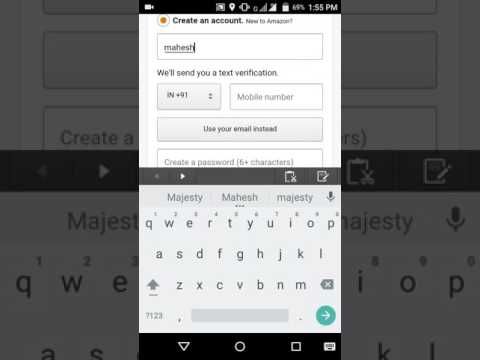 (Telugu)How to create amazon account