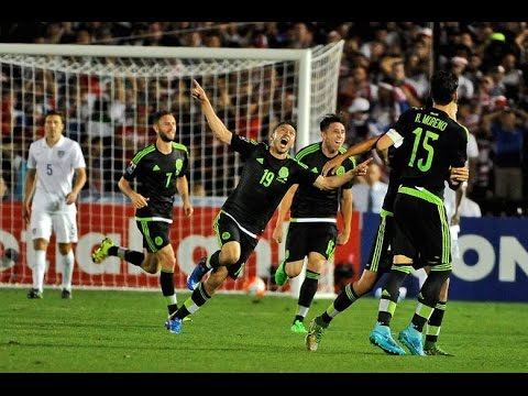 Usa vs Mexico 23 All Goals and Highlights 2015