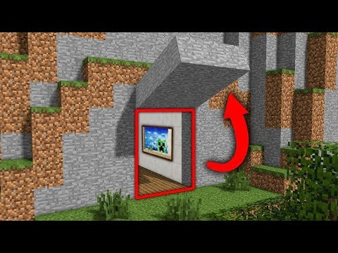 10 Build Hacks To Hide Your House From Friends - Secret Base Tutorial