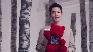 #XiaoZhan - RoseOnly CF Filming BTS