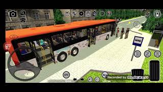 프로톤버스 시뮬레이터 에버랜드 셔틀버스 주행 영상